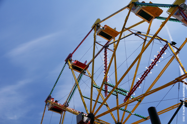 Big Wheel at Hampstead Summer Festival