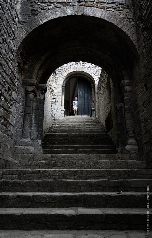 Stairway at Castle Rising, Norfolk