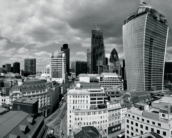 View of London from Monument