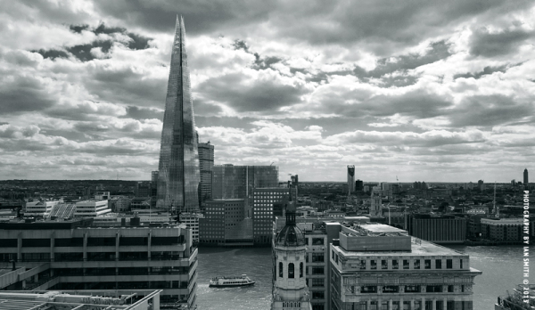 View of The Shard from The Monument