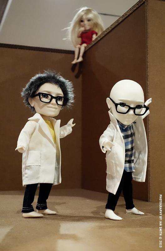 MakieLab Makie Dolls in London Design Museum