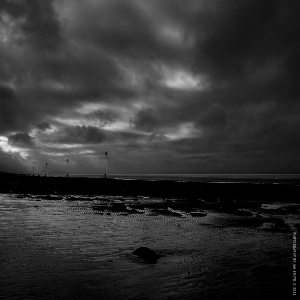 Stormy weather at Hunstanton