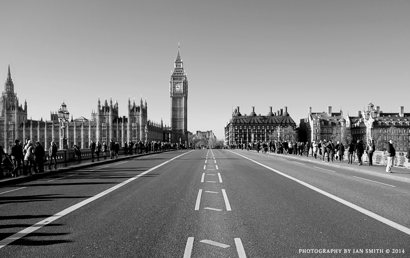 On Westminster Bridge, London