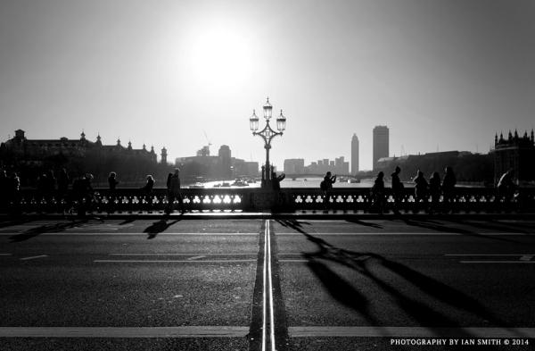Sunlight on Westminster Bridge