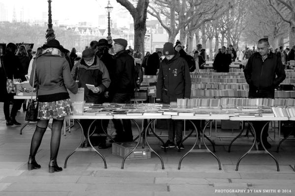 Southbank Book Market, London