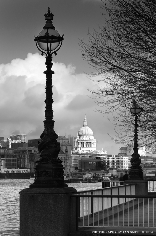 St Paul's across the River Thames