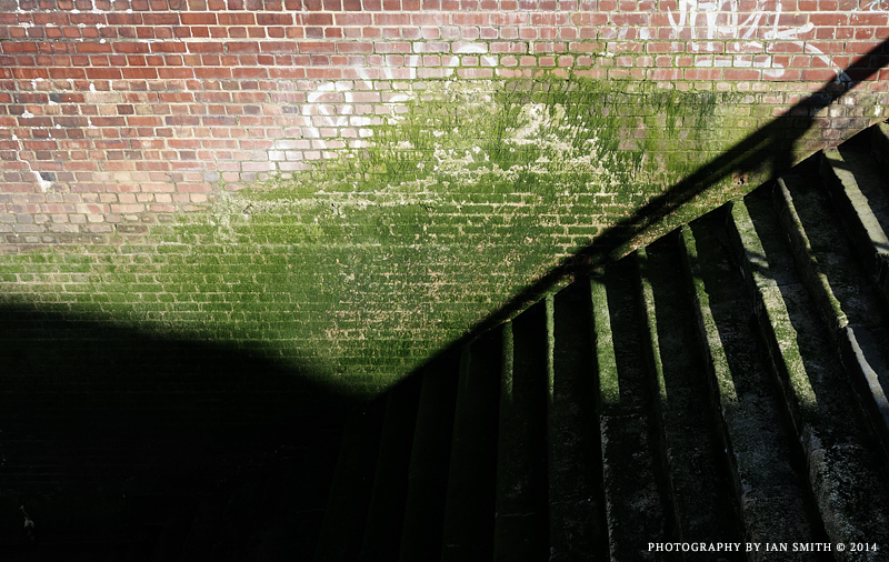 Stairs down to the Thames in Greenwich