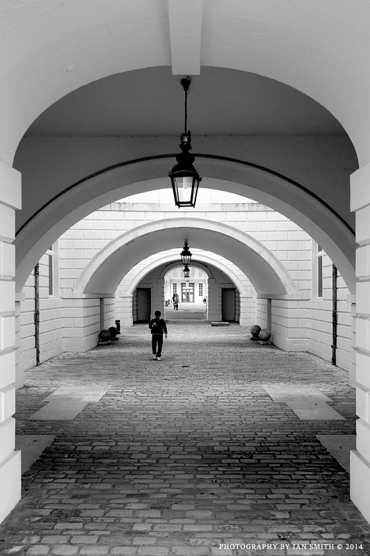 Road beneath Queens House, Greenwich