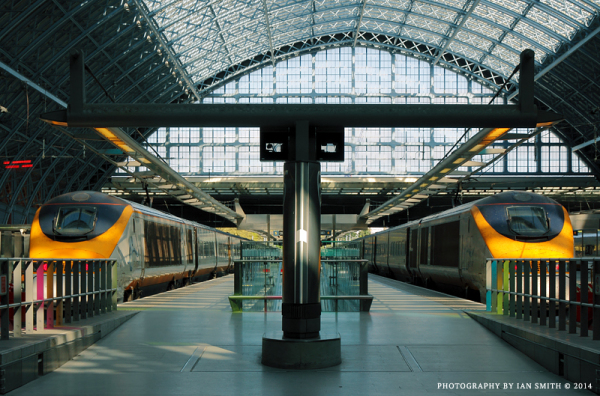 Eurostar Terminus St Pancras International