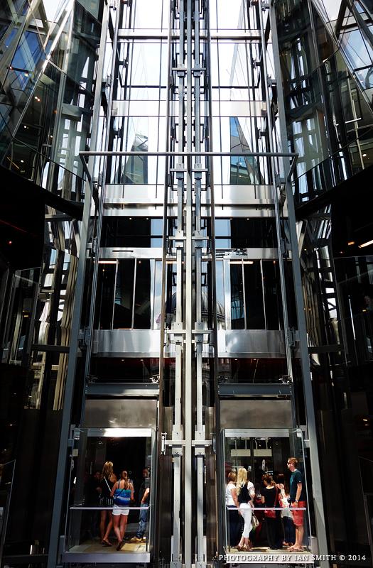One New Change Lifts, London