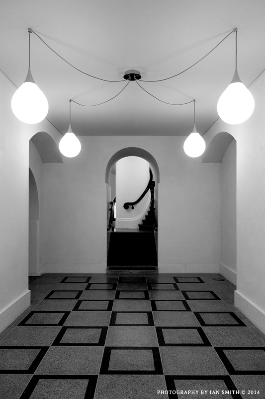 The basement of Tate Britain