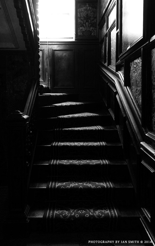 Shadows and Stairs in Oxburgh Hall
