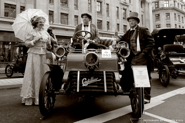 1903 Cadillac Automobile in London