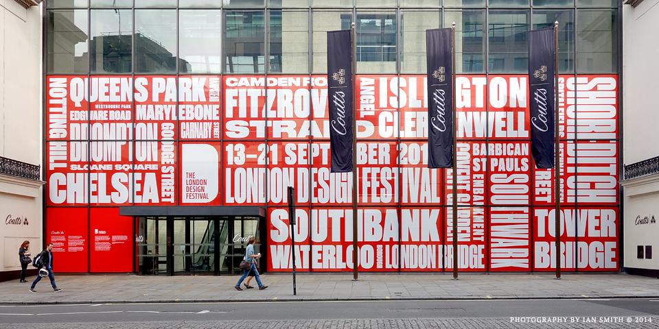 London Design Festival window display