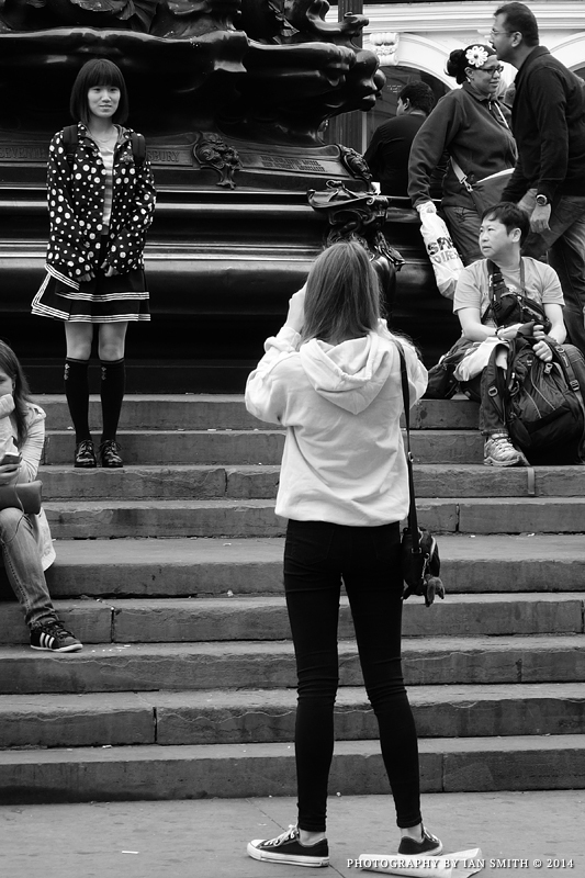 People of Piccadilly Circus