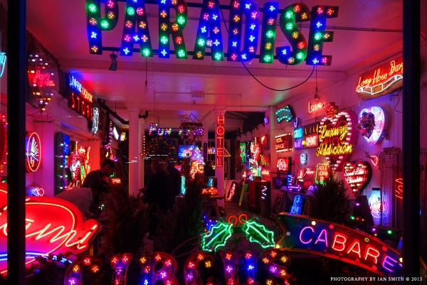 Neon Shop in London Soho