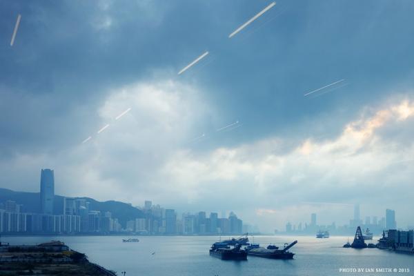 A view from Yau Tong, Hong Kong