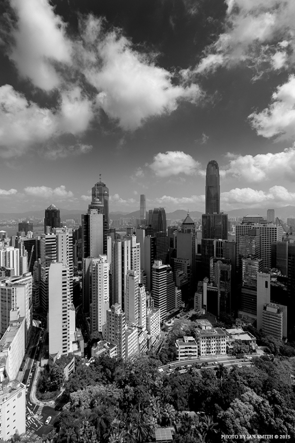 Another view from The Albany building in Hong Kong