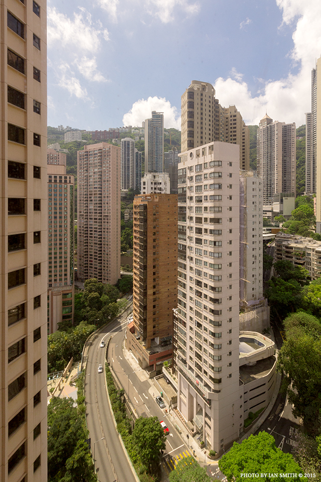Rear view from The Albany, Hong Kong