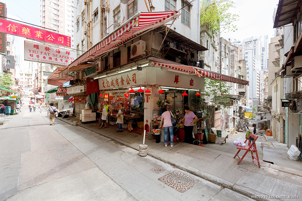 Butchers on Gage Street, Hong Kong