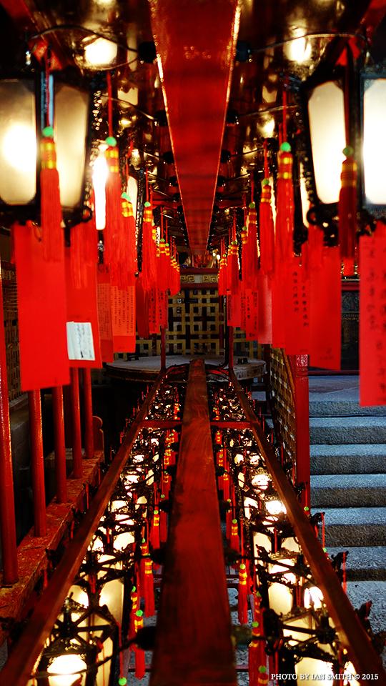 Lanterns in Man Mo Temple, Hong Kong
