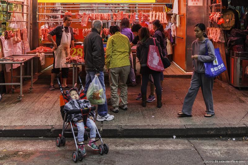 Baby & Butcher on Chun Yeung Street, Hong Kong
