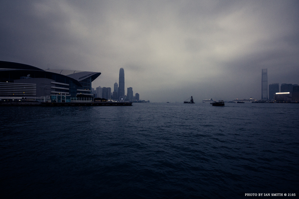 Leaving Wanchai on the Star Ferry