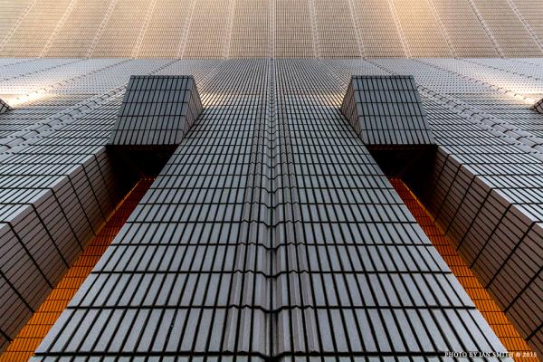 Architectural detail in Tsim Sha Tsui, Hong Kong