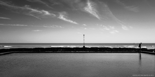Lone figure in Broadstairs