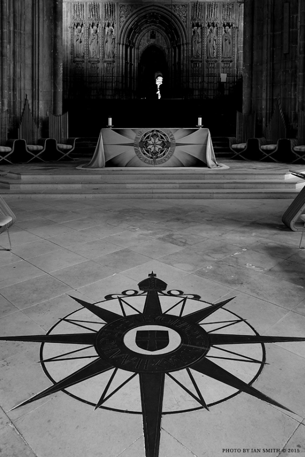 Compass Rose, Canterbury Cathedral