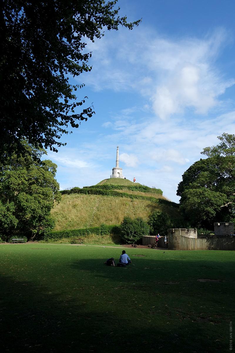 Dane John Mound, Canterbury, Kent