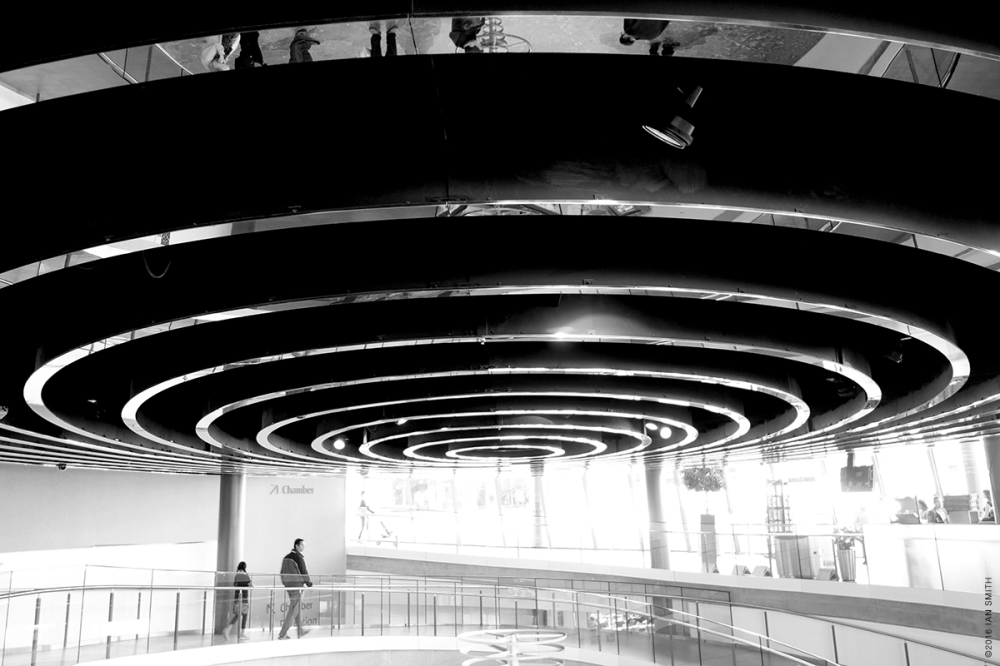 Radial architecture under London's City Hall
