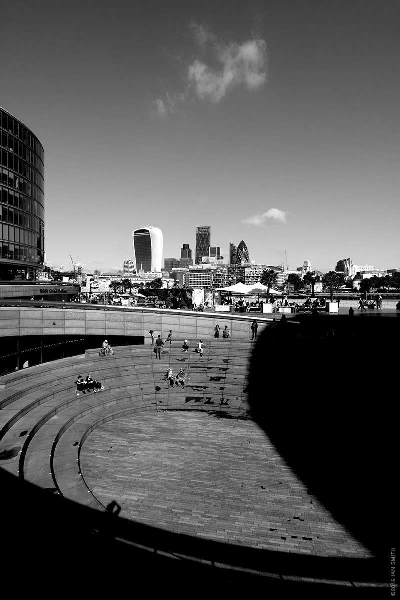 View from outside London's City Hall