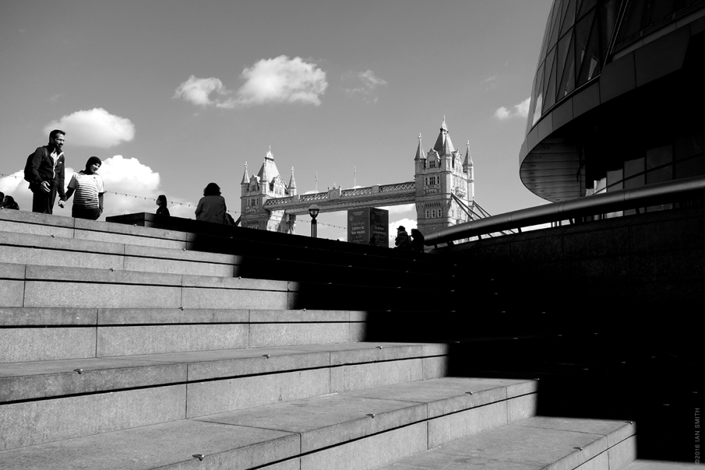 View from The Scoop, London