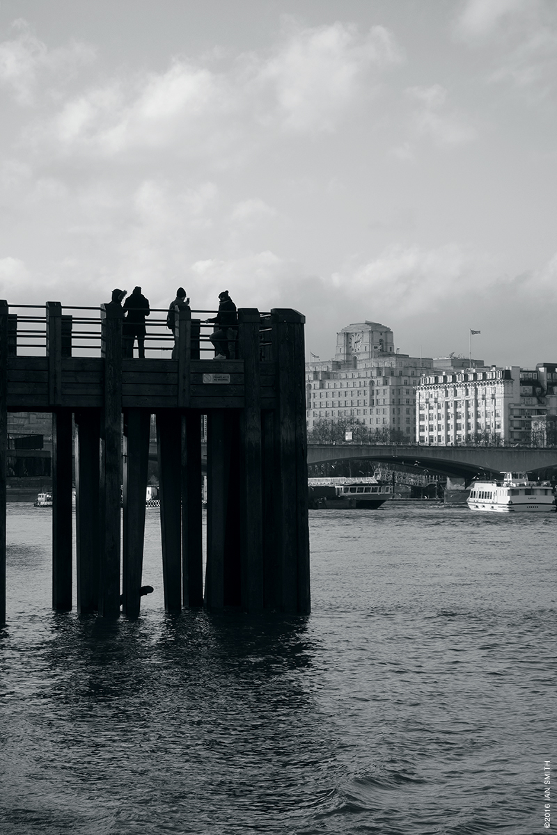 A pier on the River Thames