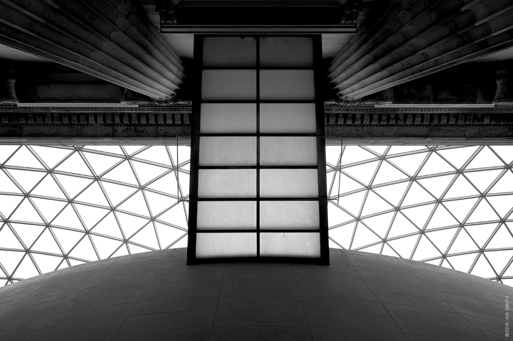 Architectural detail from the British Museum