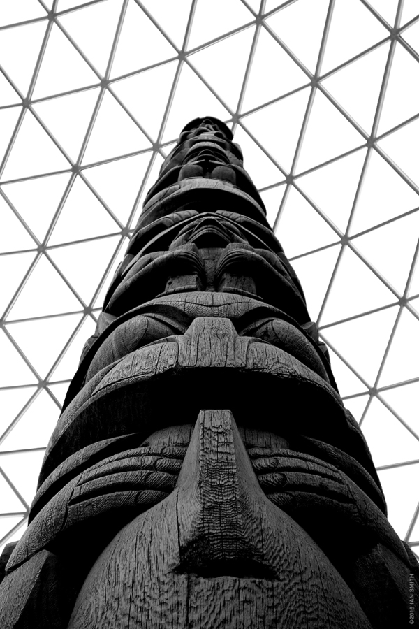 Kayung totem pole, British Museum, London