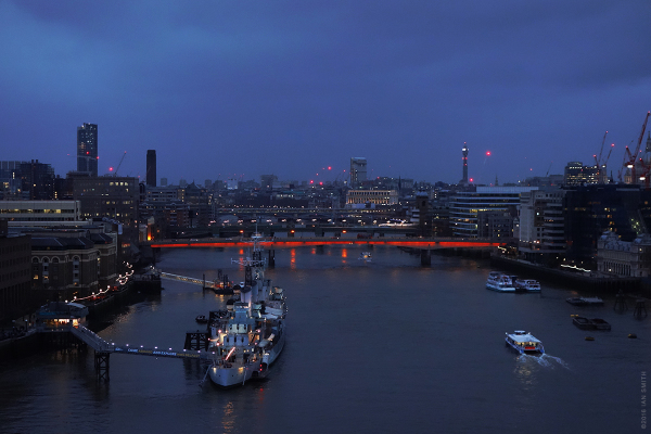 River Thames in the evening