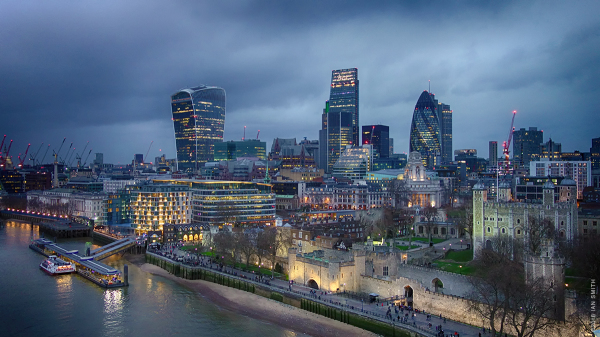 City of London and Tower of London