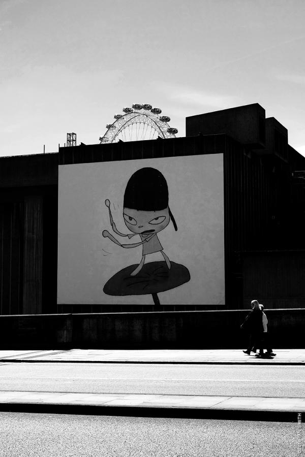 YOSHITOMO NARA, MARCHING ON THE BUTTERBUR LEAF