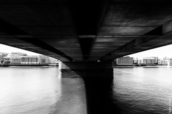 Beneath London Bridge