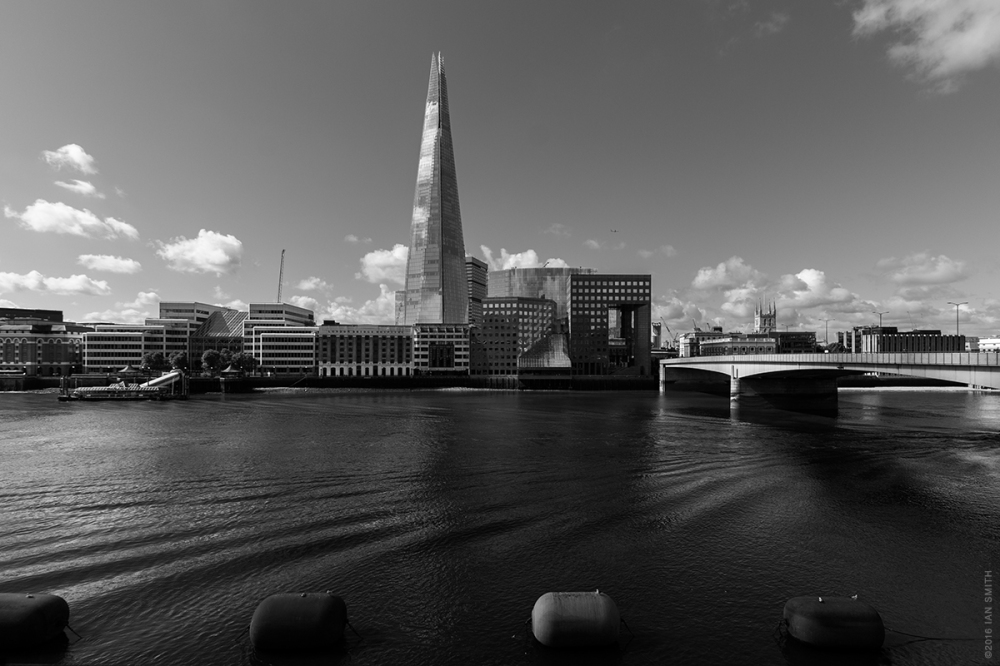 View across to London Bridge