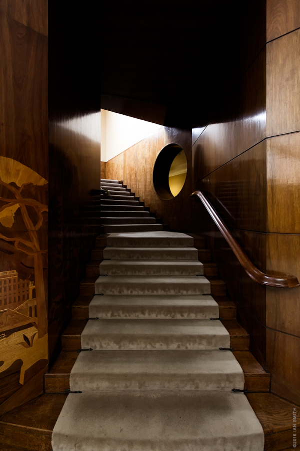 Staircase in Eltham Palace