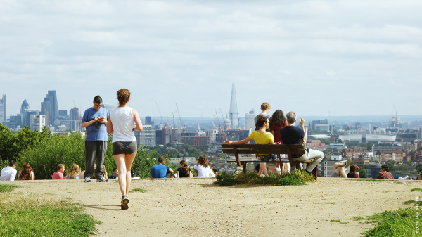 Life on Parliament Hill, Hampstead, London