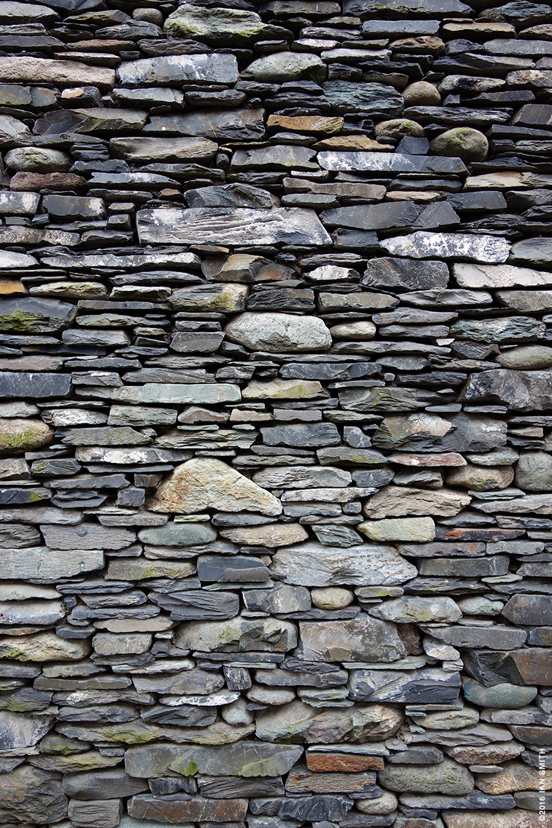 Slate, Rock and Stone Wall