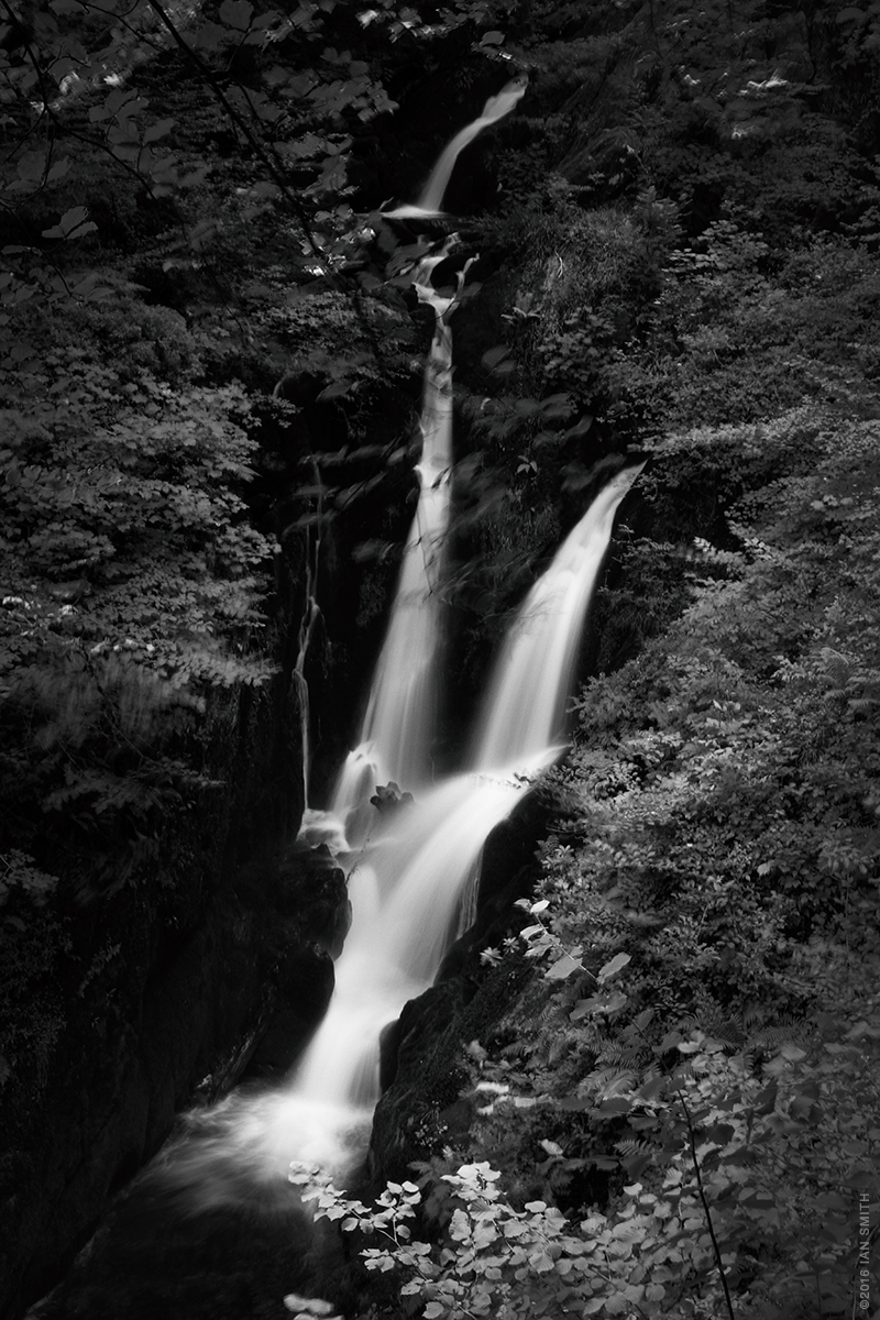 Stock Ghyll Force Waterfall, Lake District