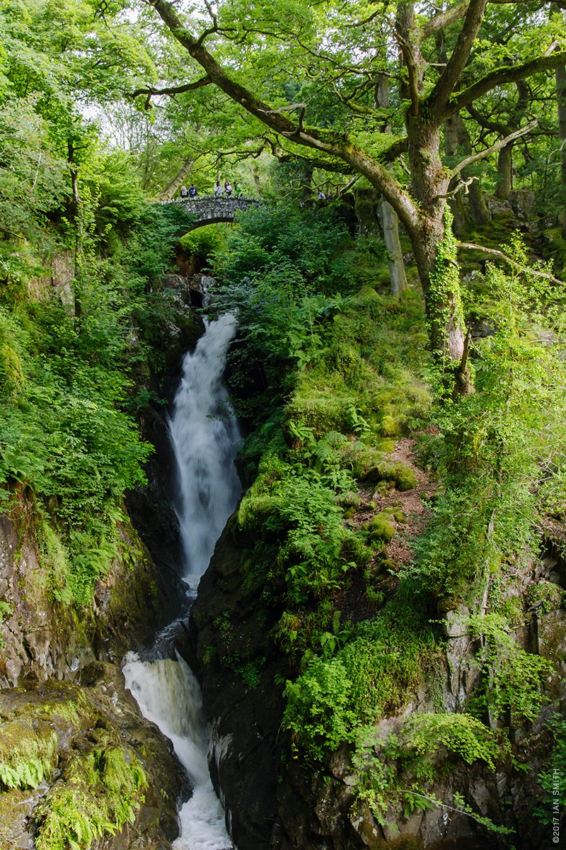 Aira Force in the Lake District, Cumbria