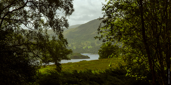 View of Ullswater in the Lake District