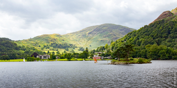 View from the Ullswater Steamer