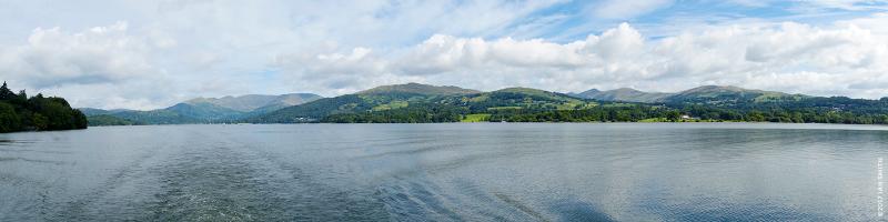 Lake Windermere panorama